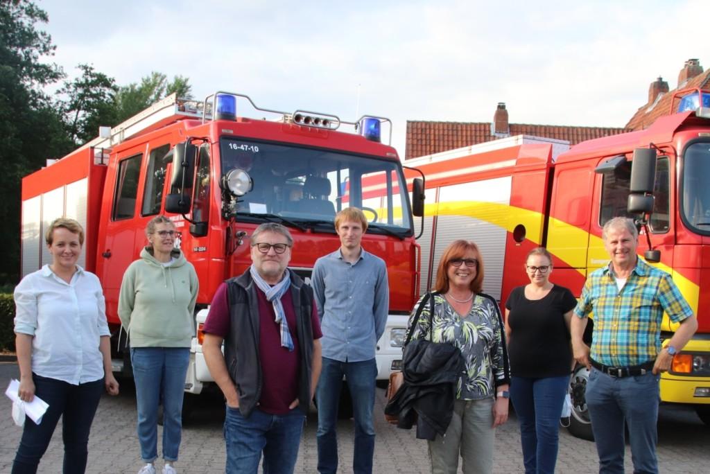 Bei der Feuerwehr Dahlenburg