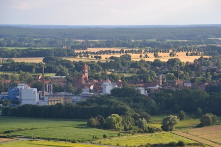 Blick auf Dahlenburg