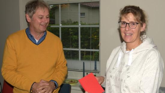 Franziska Voigt erhält das Parteibuch